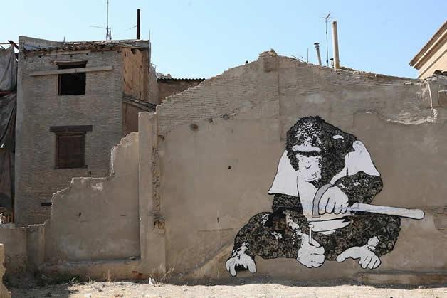 36 streetart vol7 50 street art fun et créatifs   vol 7