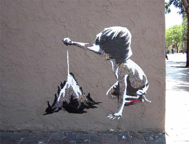 41 streetart vol7 50 street art fun et créatifs   vol 7