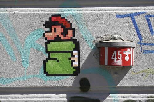 46 streetart vol7 50 street art fun et créatifs   vol 7