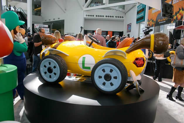 De vrais Kartings Mario au LA autoshow 3