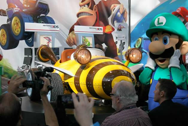 De vrais Kartings Mario au LA autoshow 4