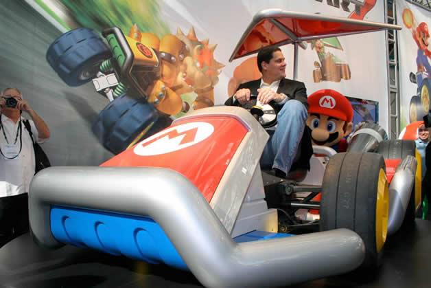 De vrais Kartings Mario au LA autoshow 5