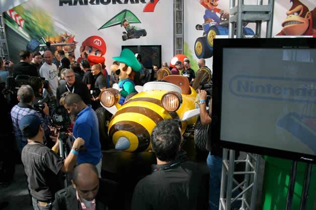 De vrais Kartings Mario au LA autoshow 6