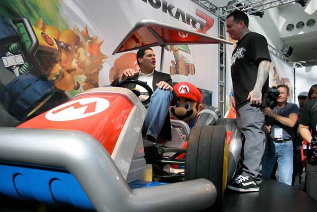 De vrais Kartings Mario au LA autoshow 7