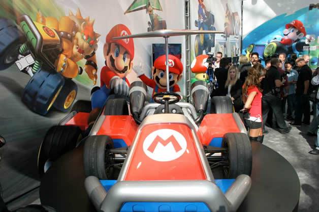De vrais Kartings Mario au LA autoshow 8