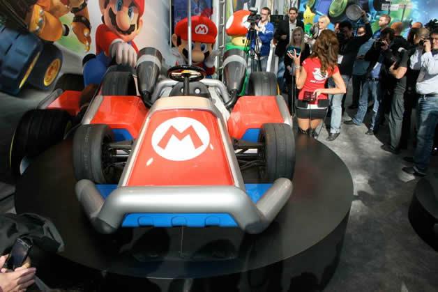 De vrais Kartings Mario au LA autoshow 9