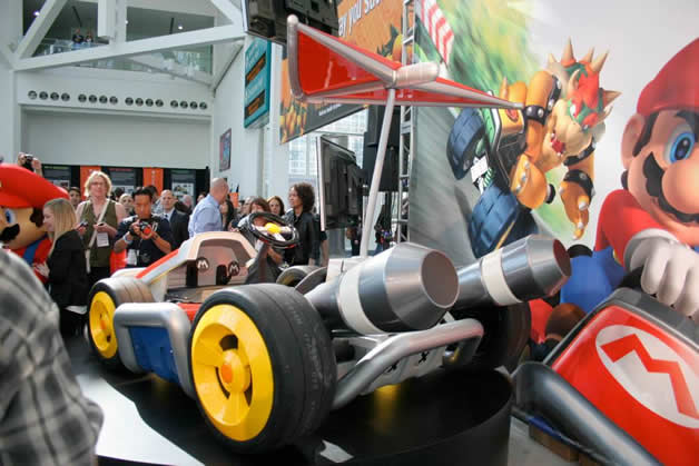 De vrais Kartings Mario au LA autoshow 11