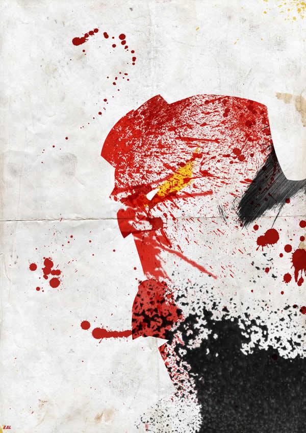 Les peintures de Super-héros par Arian Noveir 5
