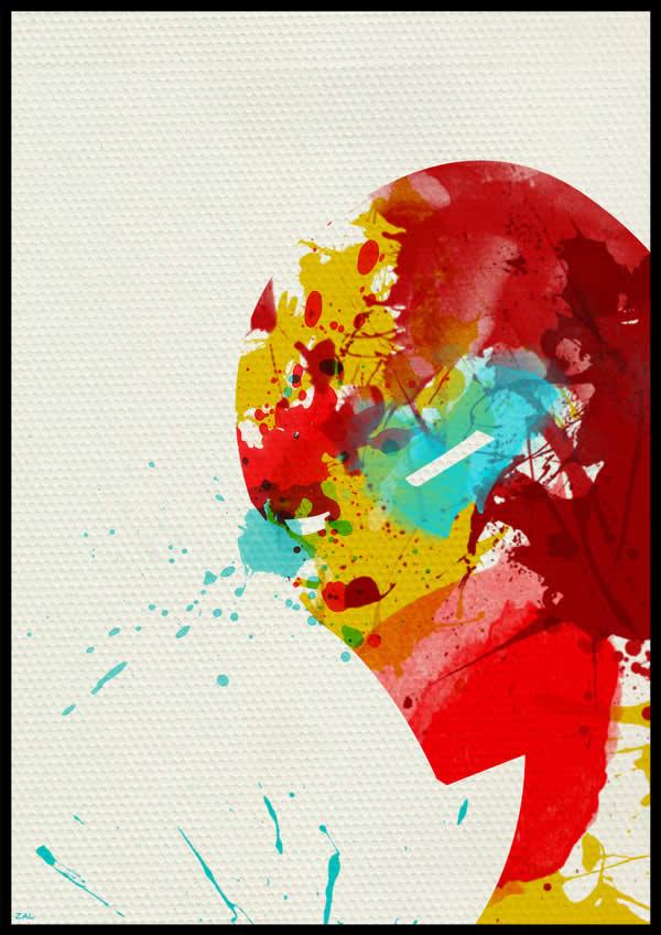 Les peintures de Super-héros par Arian Noveir 9
