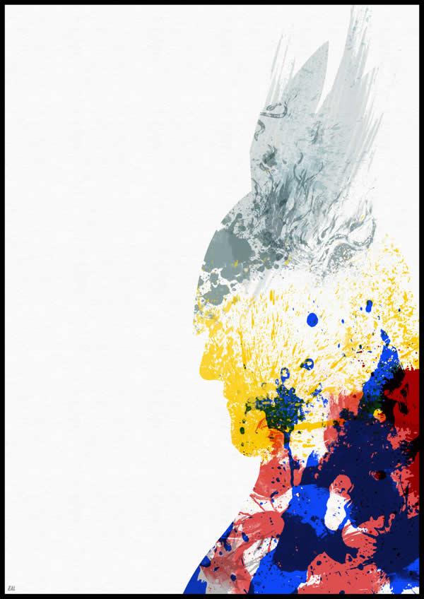 Les peintures de Super-héros par Arian Noveir 4