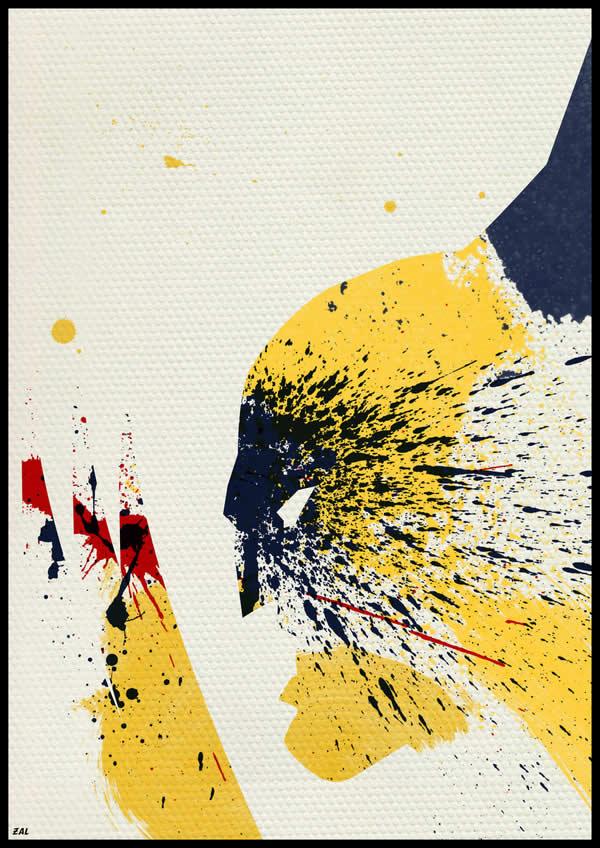 Les peintures de Super-héros par Arian Noveir 3