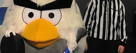 HockeyBird - La mascotte AngryBird pour la coupe du monde de hockey 2012 6