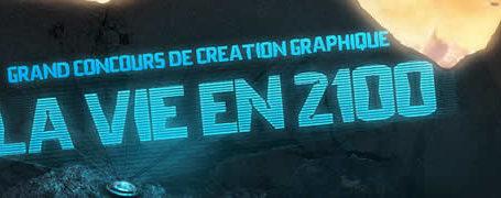 Concours graphisme - La vie en 2100 2