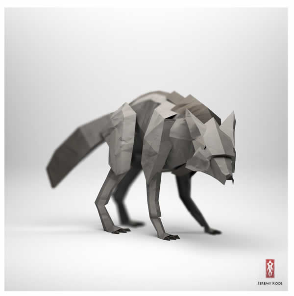 #Origami - The paper fox project 12