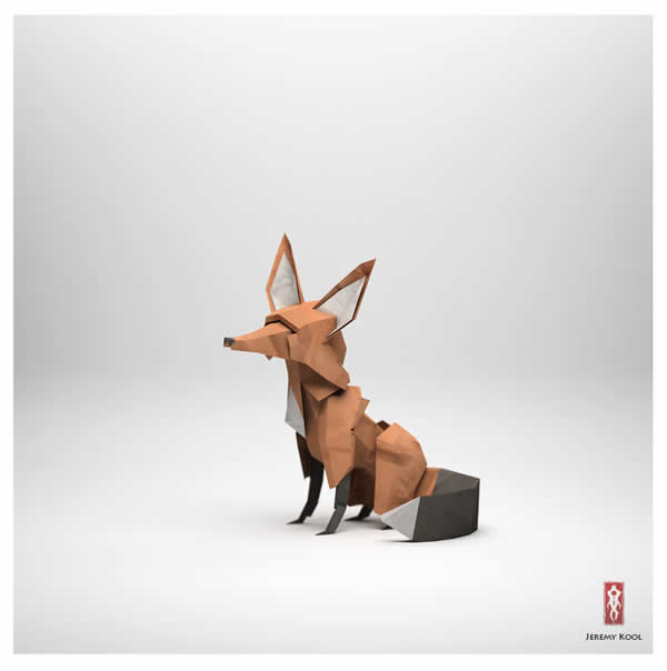 #Origami - The paper fox project 2