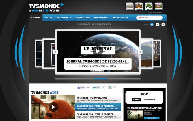 TV5MONDE lance sa chaine de Vod 2