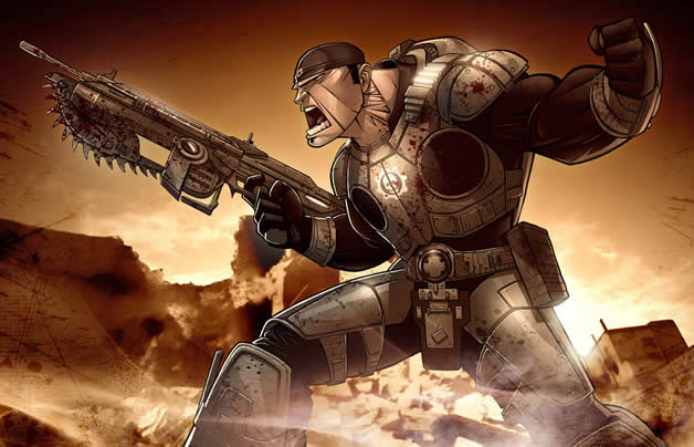 Les superbes illustrations de jeux-vidéos de Patrick Brown 21