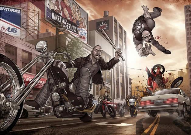 Les superbes illustrations de jeux-vidéos de Patrick Brown 20