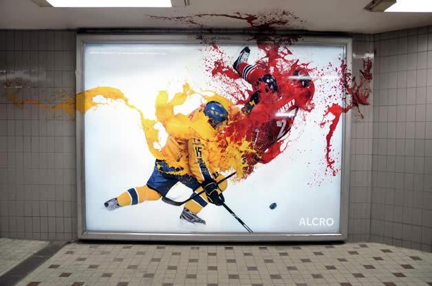 90+ publicités design et créatives de Décembre 2011 3