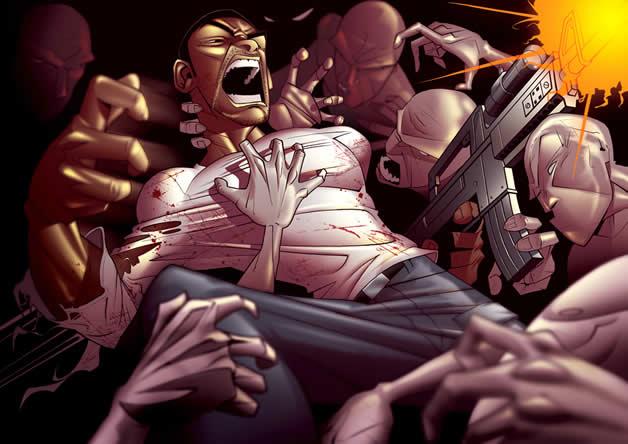 Les superbes illustrations de jeux-vidéos de Patrick Brown 19