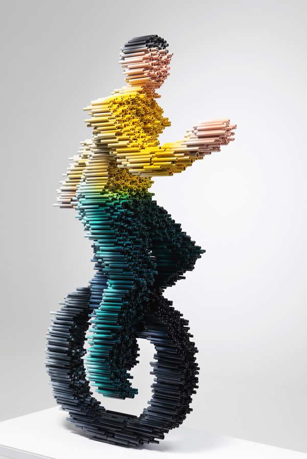 Sculptures à base de tubes de Duck-Bong 8