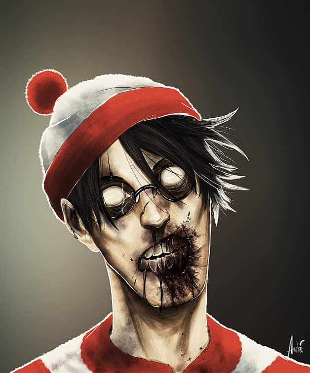 Les portraits Zombies de personnages célèbres 7