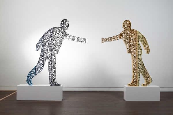 Sculptures à base de tubes de Duck-Bong 7