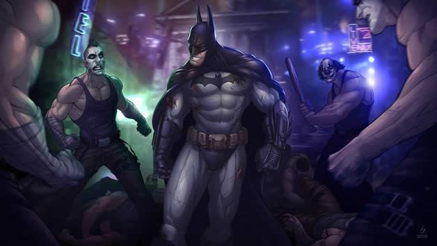 Les superbes illustrations de jeux-vidéos de Patrick Brown 16
