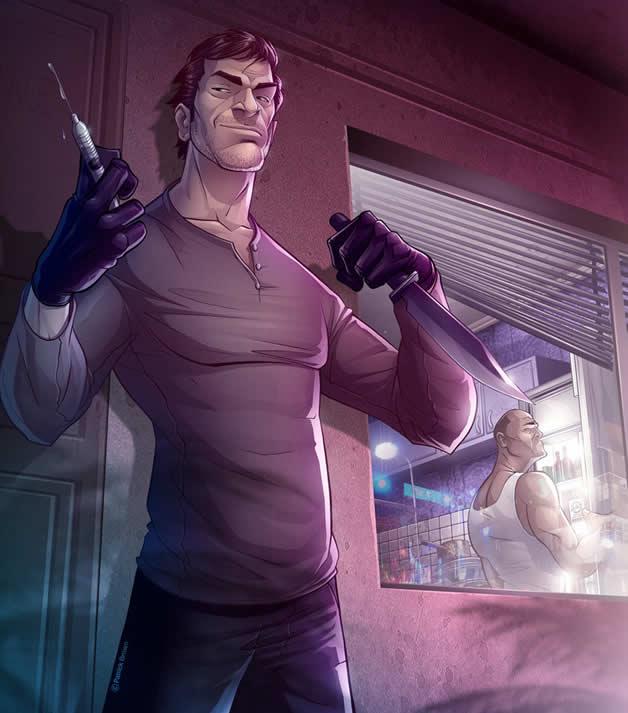 Les superbes illustrations de jeux-vidéos de Patrick Brown 15