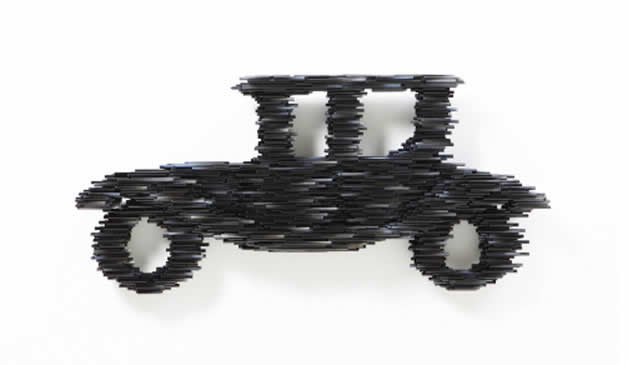 Sculptures à base de tubes de Duck-Bong 5