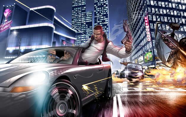 Les superbes illustrations de jeux-vidéos de Patrick Brown 13