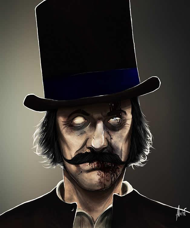 Les portraits Zombies de personnages célèbres 3
