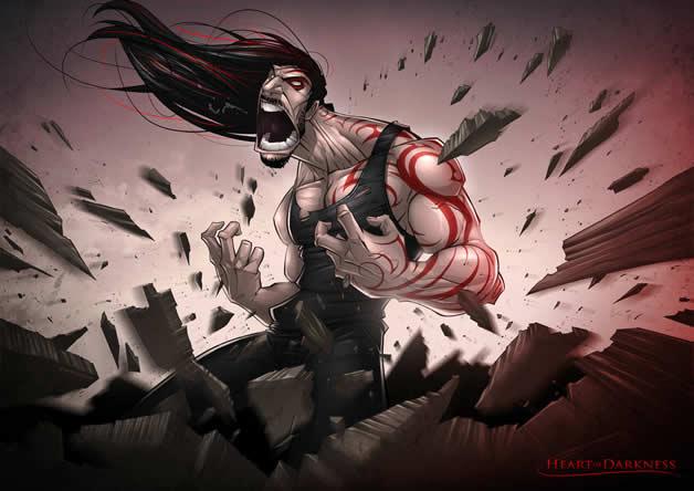 Les superbes illustrations de jeux-vidéos de Patrick Brown 12