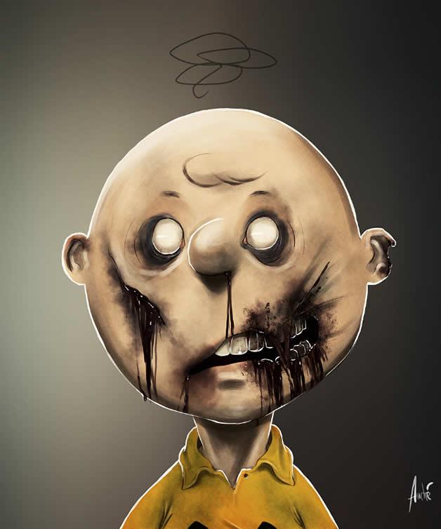 Les portraits Zombies de personnages célèbres 2