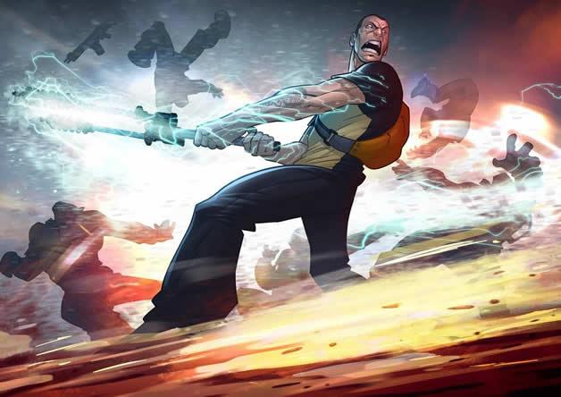 Les superbes illustrations de jeux-vidéos de Patrick Brown 10
