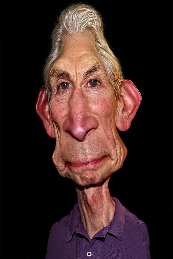 Caricatures de personnes célèbres par Rodney Pike 9