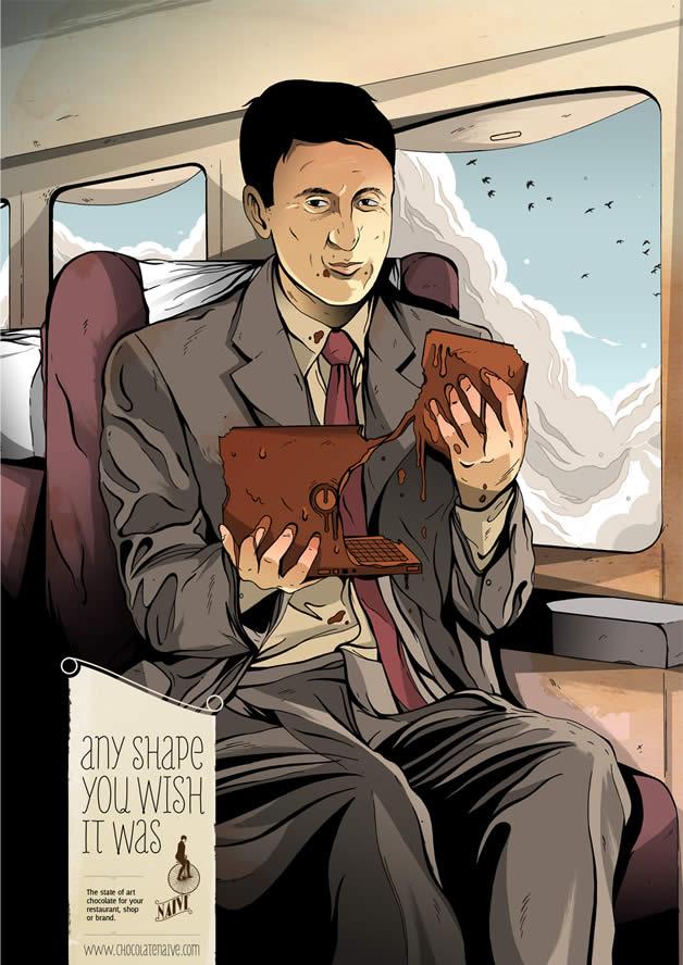 90+ publicités design et créatives de Décembre 2011 14