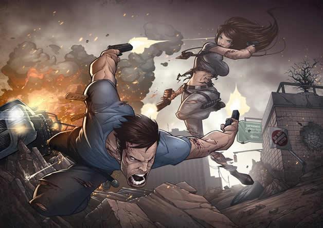 Les superbes illustrations de jeux-vidéos de Patrick Brown 8