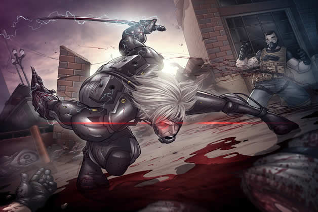 Les superbes illustrations de jeux-vidéos de Patrick Brown 6