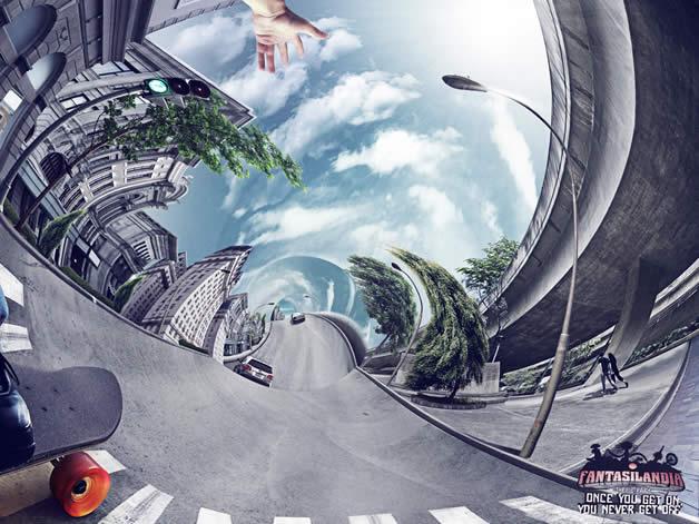 90+ publicités design et créatives de Décembre 2011 30