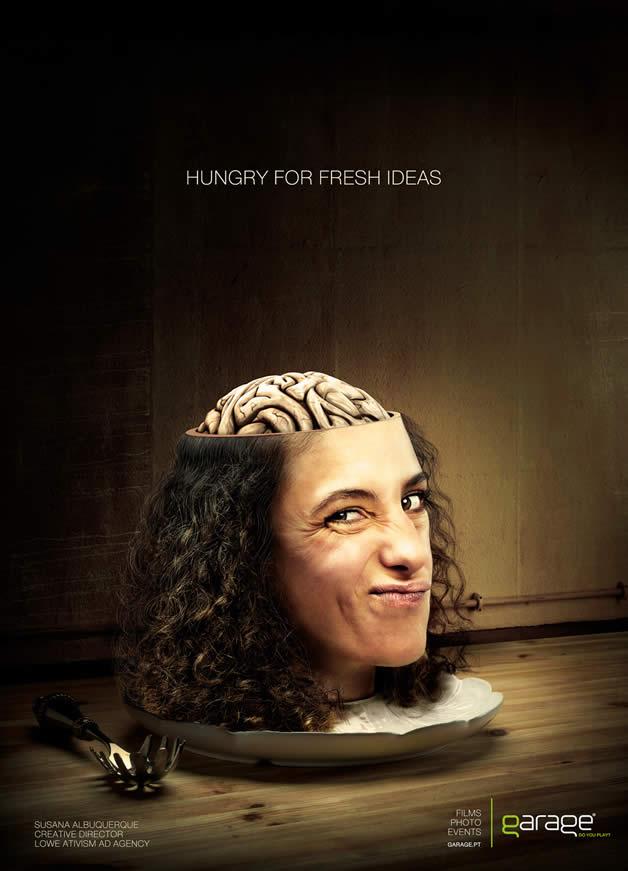 90+ publicités design et créatives de Décembre 2011 37