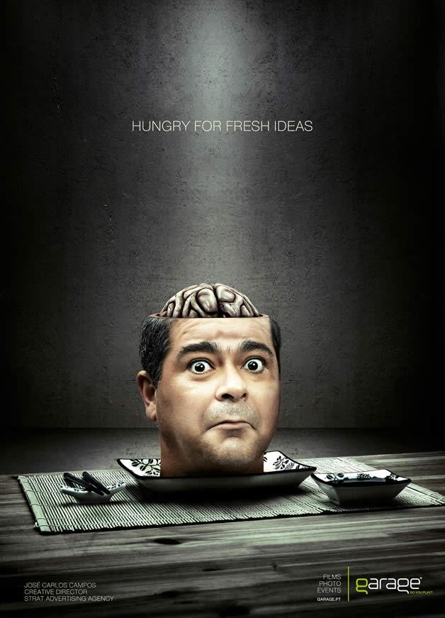 90+ publicités design et créatives de Décembre 2011 38