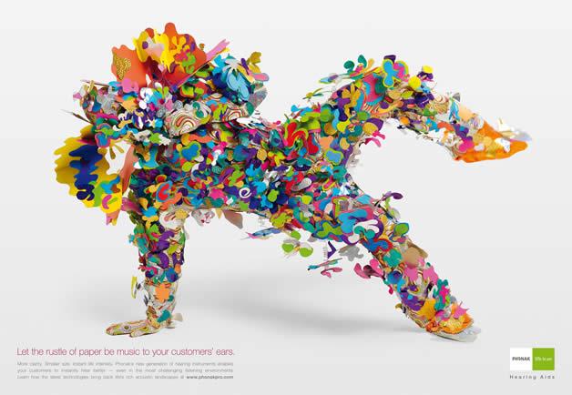 90+ publicités design et créatives de Décembre 2011 53