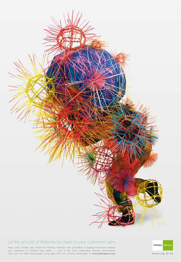 90+ publicités design et créatives de Décembre 2011 57