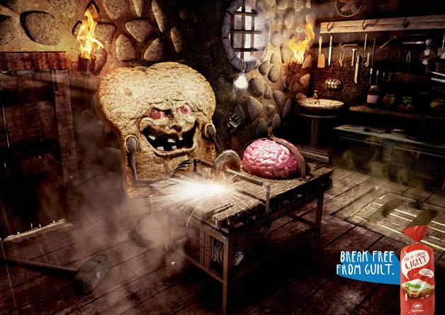 90+ publicités design et créatives de Décembre 2011 61