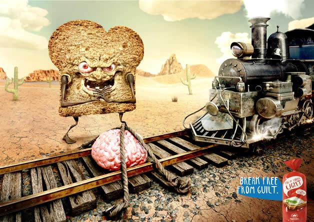 90+ publicités design et créatives de Décembre 2011 62
