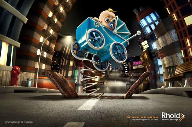 90+ publicités design et créatives de Décembre 2011 63