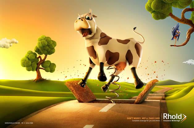 90+ publicités design et créatives de Décembre 2011 64