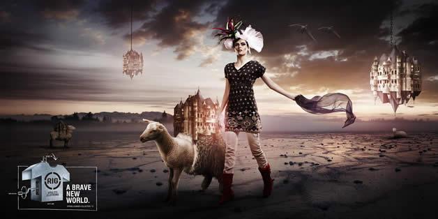 90+ publicités design et créatives de Décembre 2011 65