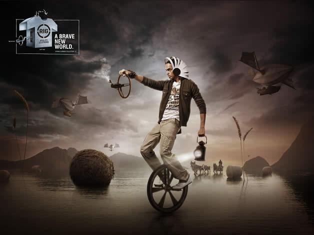 90+ publicités design et créatives de Décembre 2011 66